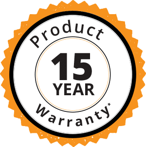 Product 15 Year Warranty