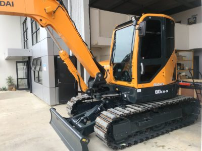 Hyundai Digger Commercial Window Tinting Auckland