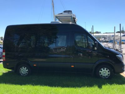 Mercedes Benz Sprinter window tinting auckland