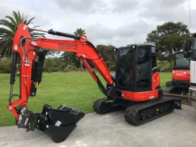 Kubota U554 Commercial Window Tinting