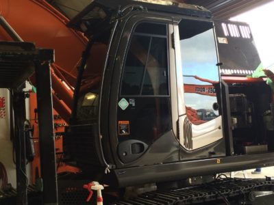 Hitachi Zaxis 225 USRLC Commercial Window Tinting