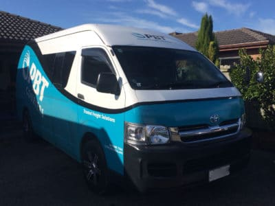 Toyota Hiace Commercial Window Tinting Auckland | A1 Tinting