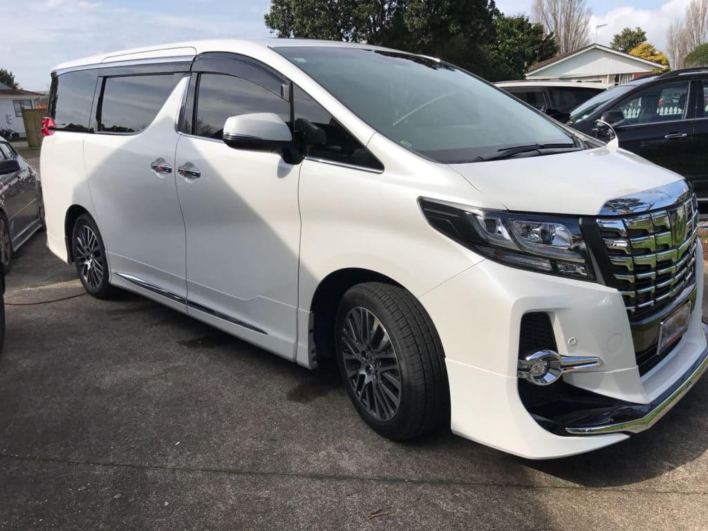Toyota Alphard 2017 Window Tinting Auckland