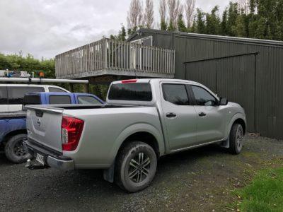 Nissan Navara 2017 Mobile Tinting Auckland
