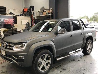 Volkswagen Amarok 2017 Mobile Tinting Auckland