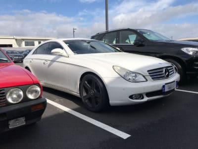 Mercedes-Benz CLS 500 Car Windows Tinted Auckland