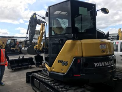 Yanmar ViO80 Mobile Window Tinting Auckland