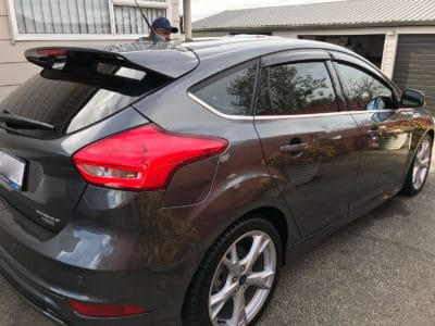Ford Focus 2017 Car Window Tinting Auckland