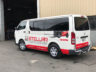 Toyota Hiace 2006 Commercial Window Tinting