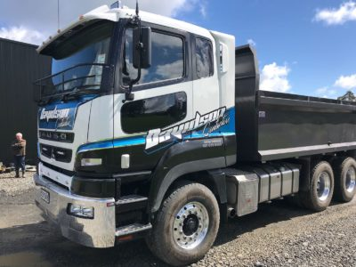 Mitsubishi Fuso HD Euro 470 2017 Commercial Window Tinting Auckland