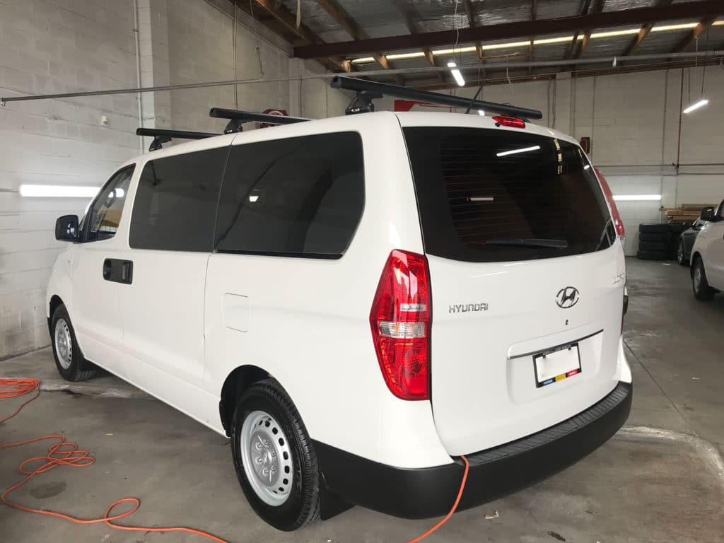 HyundaiILoad2017 Window Tinting
