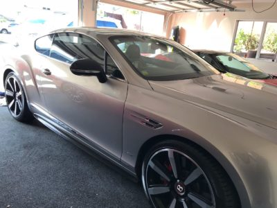 Bently Continental vehicle window tinting auckland