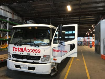 Fuso Fighter commercial window tinting auckland