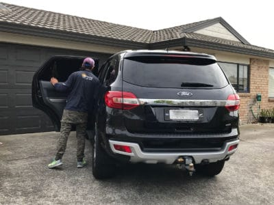 Ford Everest Commercial Window Tinting Auckland