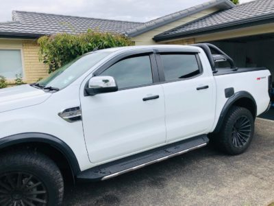 Window tinting on Ford Ranger Hi Rider