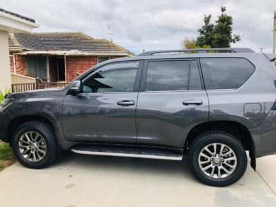 Window tinting Toyota Prado Land Cruiser