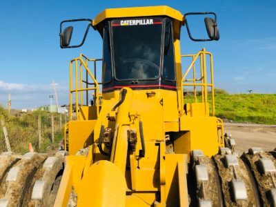 Commercial Tinting on Caterpillar Compactor