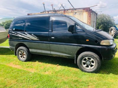 Window tinting for Mitsubishi Delica Van